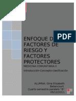 Enfoque de Riesgo y Factores Protect Ores, Word, Imprimir