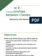 Relationships Between Classes