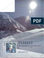 Everest - My Journey to the Top by Bachendri Pal