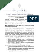 Proyecto Prevencion y Represion Del Terrorismo FINAL
