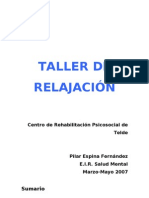 TALLER DE RELAJACIÓN