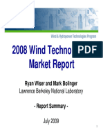 2008 Wind Technologies Ppt