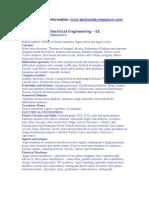 GATE Electrical Engineering