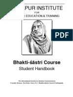 MI Bhaktisastri Student Handbook 2010 Chandigah