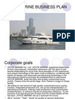 Joyce Marine Business Plan 20090326