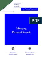 IRMT Personnel Recs