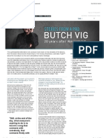 Butch Vig 20 Years After Nevermind (Part1)