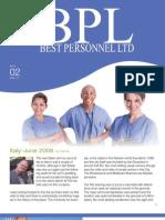 BPL Newsletter 2009