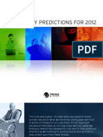 Trend Micro - 12 Security Predictions for 2012