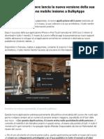 Applicazione Museo Louvre