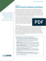 Datasheet Web Security Gateway Solutions En