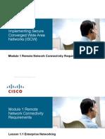 Lesson 1 - Enterprise Networking