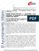 DESARROLLO ECONÓMICO-DESARROLLO SOCIAL Integración para el Empleo2