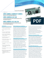 ARC1680 Series Specification