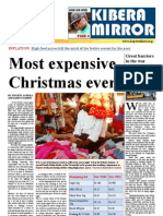 kibera mirror christmas edition