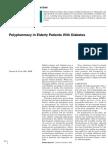 Polypharmacy Elderly Diabetes