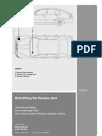 Webasto Telestart T90 Octavia Installation Guide