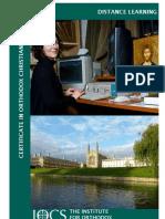 Distance Learning Brochure