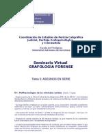 Coordinación de Estudios de Pericia Caligráfica Judicial