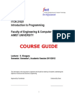 ITCN21021 IntroToProg Course Guide