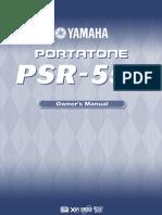 PSR550E