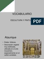VOCABULARIOESCULTURA0809