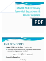 Ppt Notes on Ode