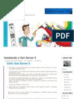 Instal an Do o Xen Server