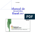 Manual de Microsoft Office Excel 2003