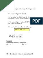 Add Maths Logs Final