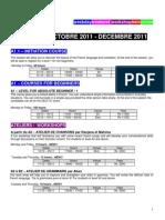 Alliance Francaise de Bombay Schedule 30