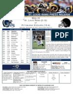 Week 16 - Rams at Steelers