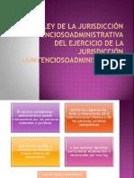 LEY DE LA JURISDICCIÓN CONTENCIOSOADMINISTRATIVA