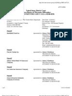 SMITHFIELD FOODS INC et al v. THE UNITED STATES DEPARTMENT OF NAVY Docket