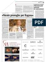 """Ragusa, """"La Sicilia"""" intervista in esclusiva il Rettore Recca"""
