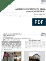 Anteproyecto Proyecto Final