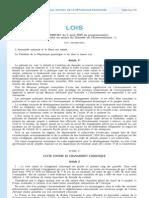 loi n° 2009-967 ( Grenelle 1)