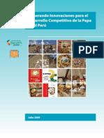 Generando Innovaciones Para El Desarrollo Competitivo de La Papa