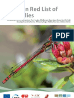European Red List of Dragonflies