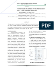 (1)Evaluation of Fault Analysis in Transmission