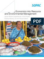 Integrating Economics Into Resource and Environmental Management