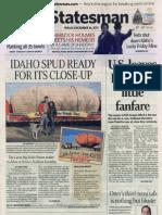 Dec 16, 2011, Idaho Statesman Front Page