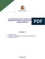 LA ESCOLARIZACIÓN DEL ALUMNADO DE ORIGEN INMIGRANTE EN ESPAÑA defesnor pueblo