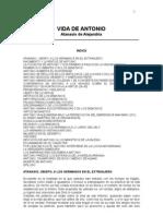 Vida_San Antonio - Por San Atanasio