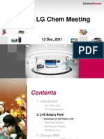 Presentation by LG Chem, December 13, 2011