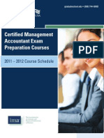 Certified Management Accountant Exam Prep (CMA) Brochure
