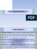2.Nature of Conflict