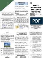 Church Newsletter-25 December 2011