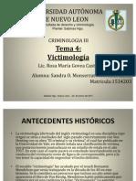 Universidad Autonoma de Nuevo Leon - Victimologia