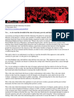 21/12/2011 Statement by the Revolutionary Socialists